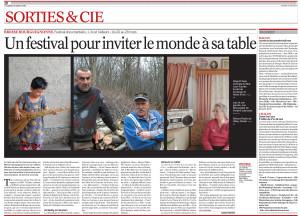 Journal de Saône et Loire - 14 mars 2014