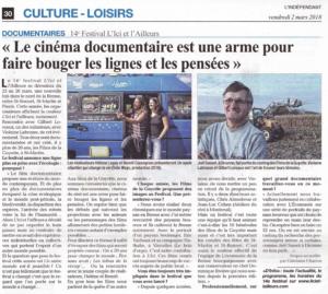 Article Presse 2018